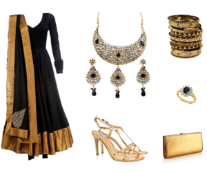 accessories, black, and bollywood image