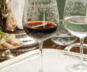 glass, vintage, and wine image