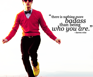 quotes, glee, and darren criss image