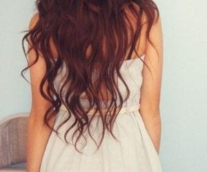 hair, beautiful, and dress image