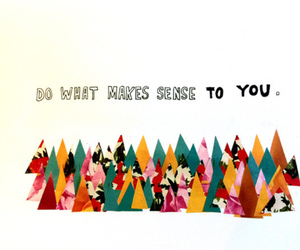 quote, text, and sense image