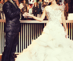 the hunger games, catching fire, and Jennifer Lawrence image