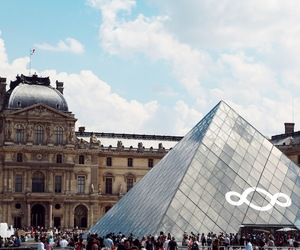 amour, museum, and louvre image