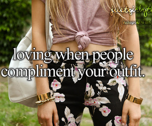 outfit, compliment, and people image