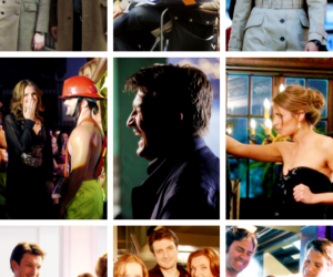 castle, nathan, and stana image