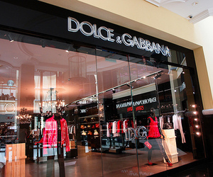 fashion, store, and Dolce & Gabbana image