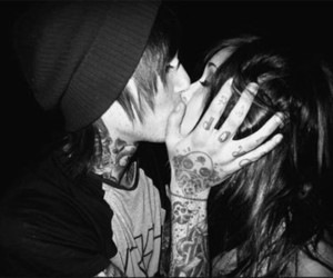 attractive, black, and makeout image