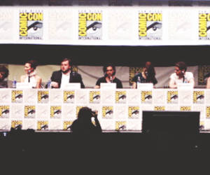 cast, game of thrones, and sdcc 2013 image