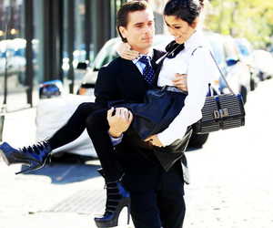 kourtney kardashian, couple, and scott disick image