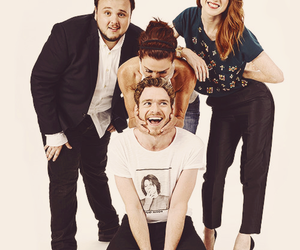 game of thrones, rose leslie, and richard madden image