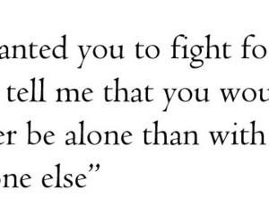 love, quote, and fight image