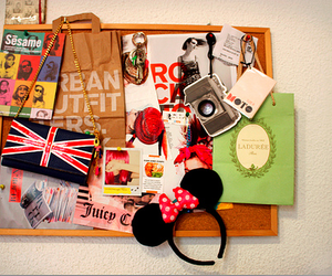 urban outfitters, disney, and minnie image