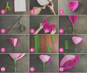 diy, flower, and pretty image