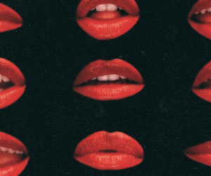 lips, header, and red image