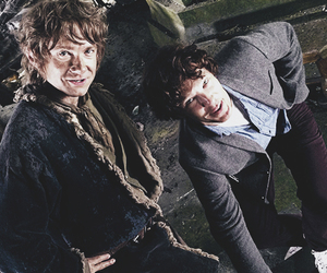 Martin Freeman, benedict cumberbatch, and the hobbit image
