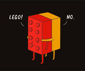 lego, cute, and funny image