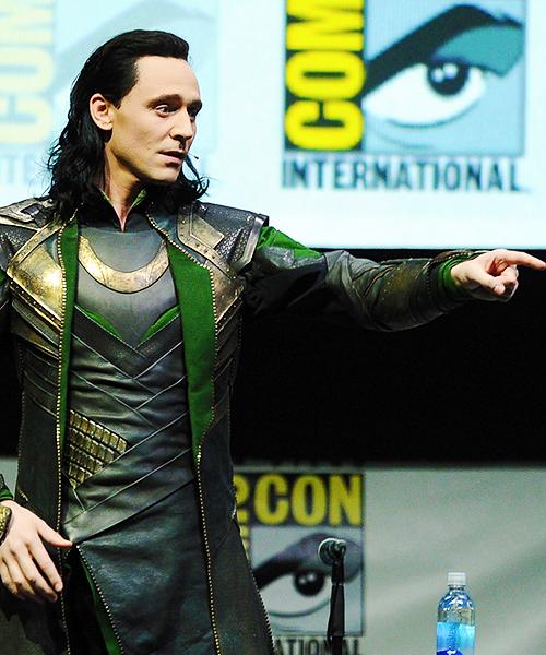 Loki at SDCC | via Tumblr on We Heart It