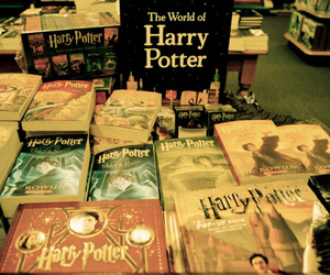 harry potter, book, and vintage image
