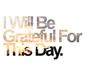 grateful and text image