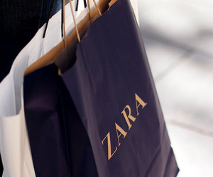 Zara, shopping, and bag image