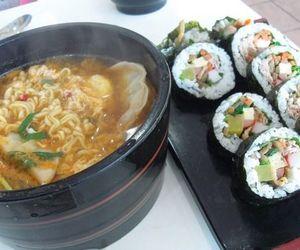 food, japan, and sushi image