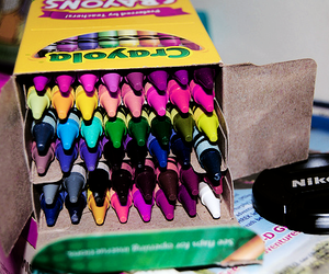 crayons, photography, and color image