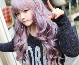 ulzzang, hair, and kfashion image
