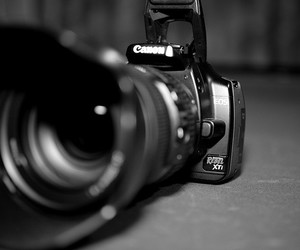 canon, rebel, and xti image