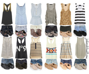 outfit, shorts, and shoes image