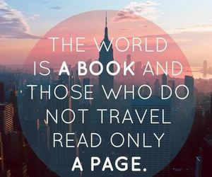travel, book, and world image