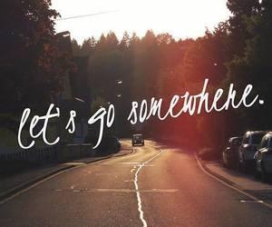 lets go somewhere image