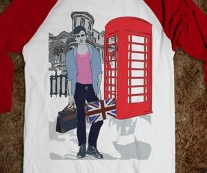 cool tees, england t-shirt, and baseball t-shirt image