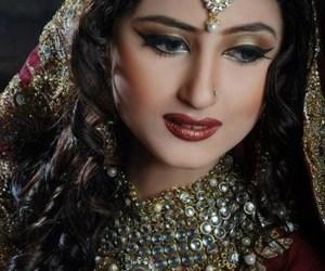 fashion, bridal makeup, and pakistani actresses image