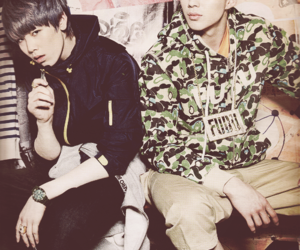 b.a.p, zelo, and bap image