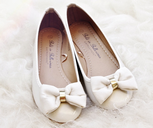 shoes, white, and girly image