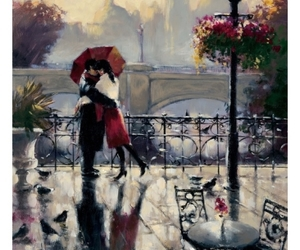 art, couple, and brent heighton image