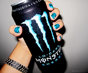 blue, drink, and girl image