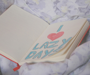 love, heart, and Lazy image