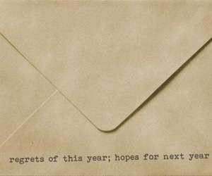 hope, regrets, and year image