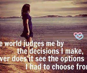 quote, decisions, and option image