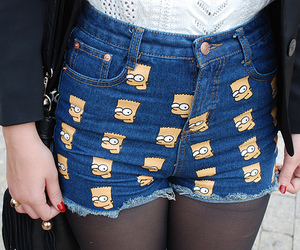 bart, simpsons, and clothes image