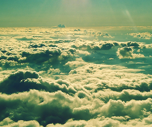 clouds, sunshine, and light image