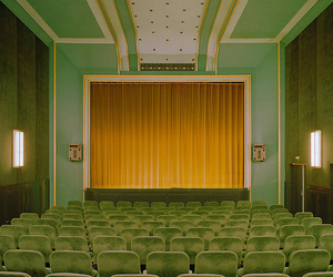 green, cinema, and theater image