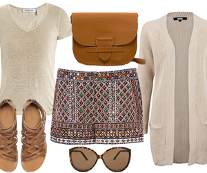 beautiful, beige, and outfits image