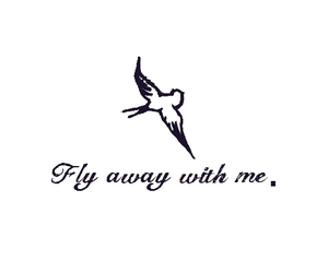 fly, bird, and quote image