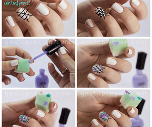 nail art and triangles image