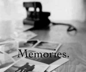 black and white, memories, and quotes image