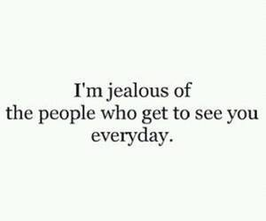 jealous and love image