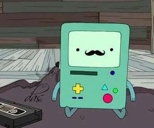 bmo, adventure time, and hora de aventura image