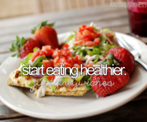 food, healthy, and justgirlythings image